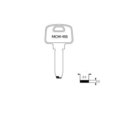 Llave de seguridad MCM-4SS