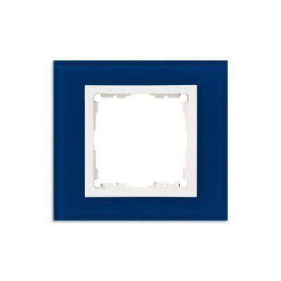 Marco 1 elemento cristal azul Simon 82