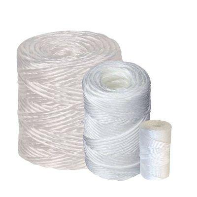 Cuerda rafia blanca en bobina