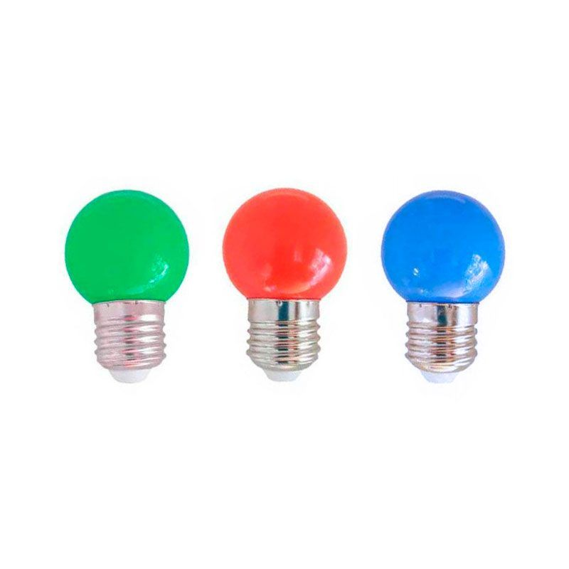 Esféricas led de colores