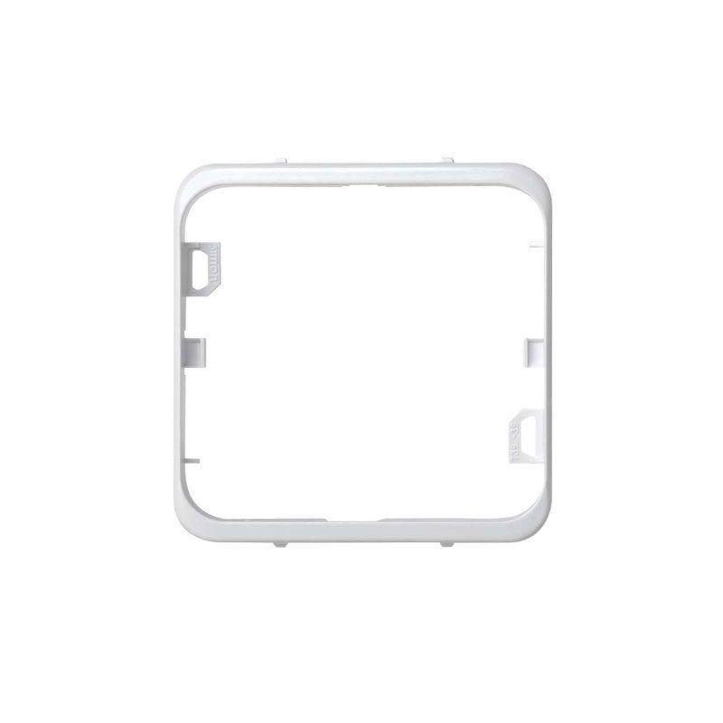 Pieza intermedia blanca Simon 73 superficie