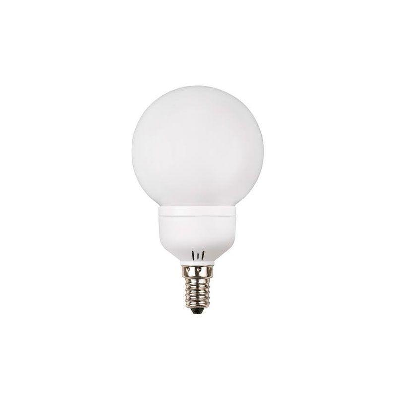 Bombilla tipo globo E14 bajo consumo