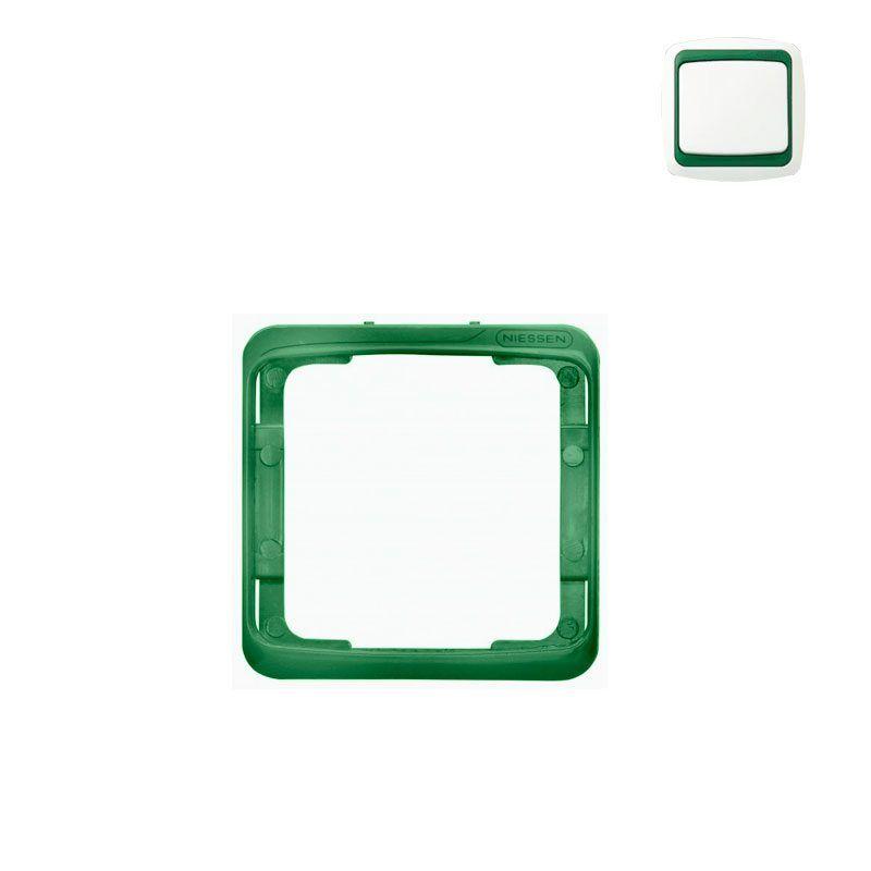 Embellecedor intermedio verde Niessen Arco