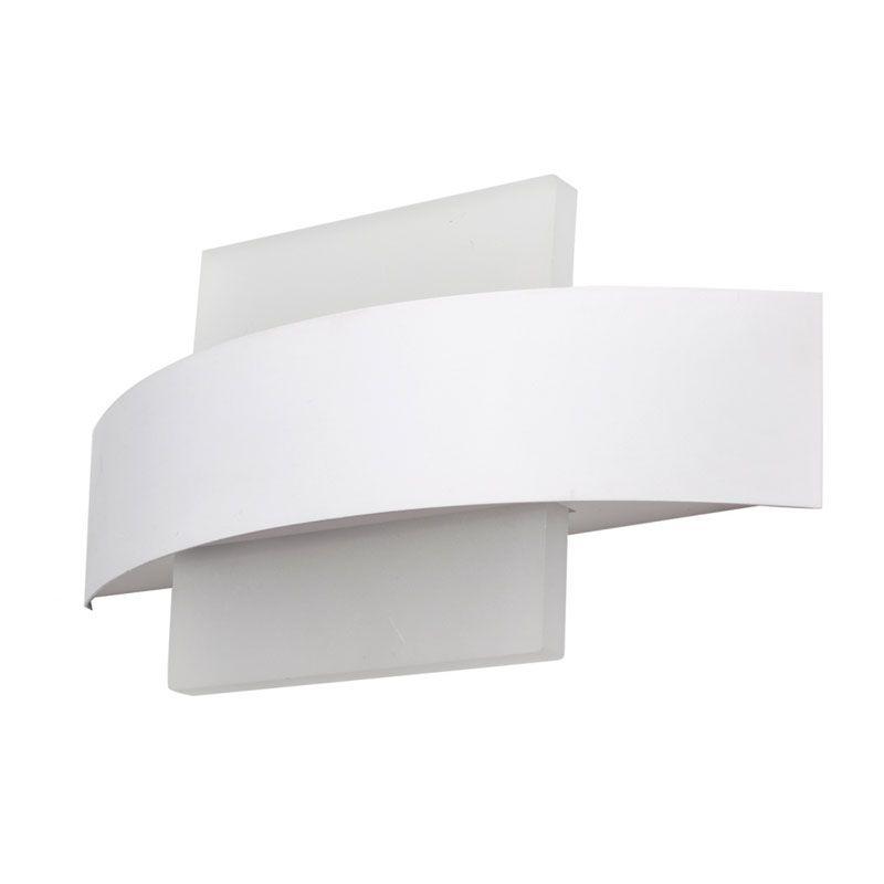 Aplique de pared led forma cuadrada color blanco