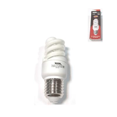 Bombilla espiral mini 7w E27 luz blanca