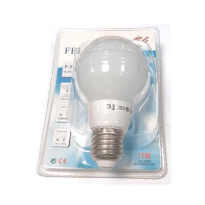 Bombilla tipo globo 11W E27 luz blanca