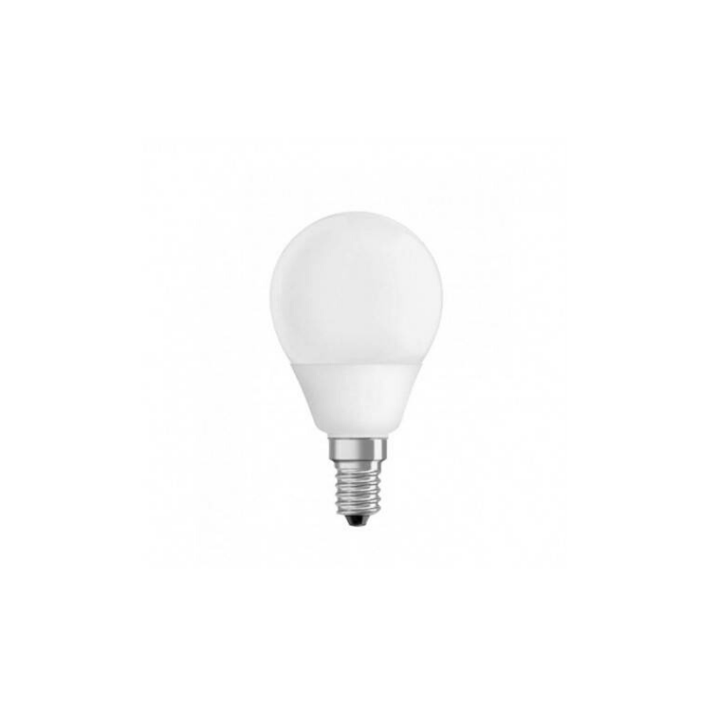 Bombilla tipo globo 8W E14 luz calida
