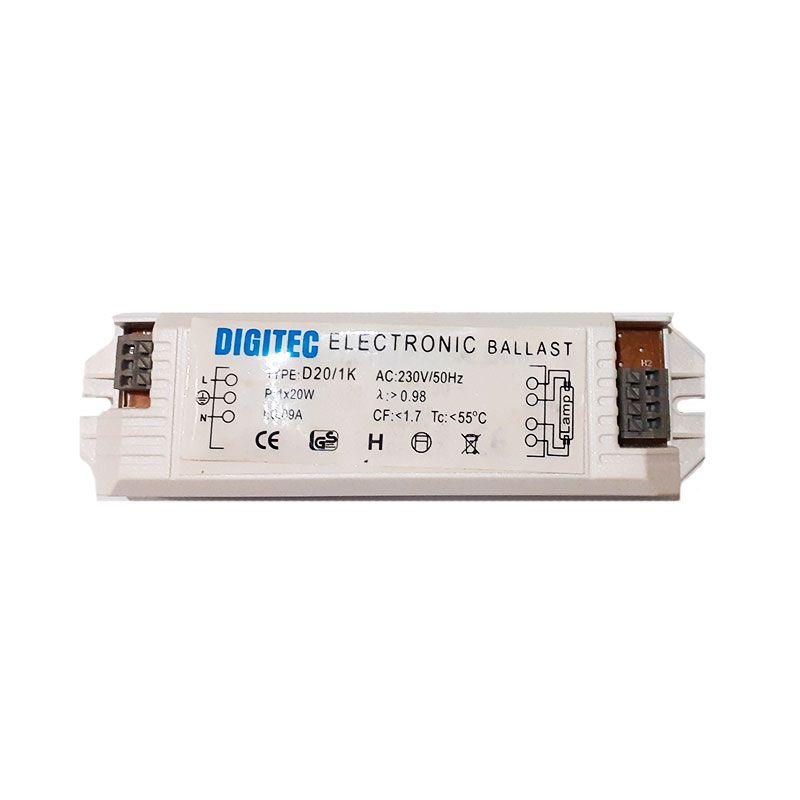 Balastro electrónico para tubos de 18w