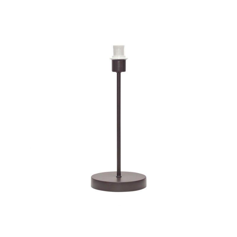 Armazón para lámpara de sobremesa color marrón