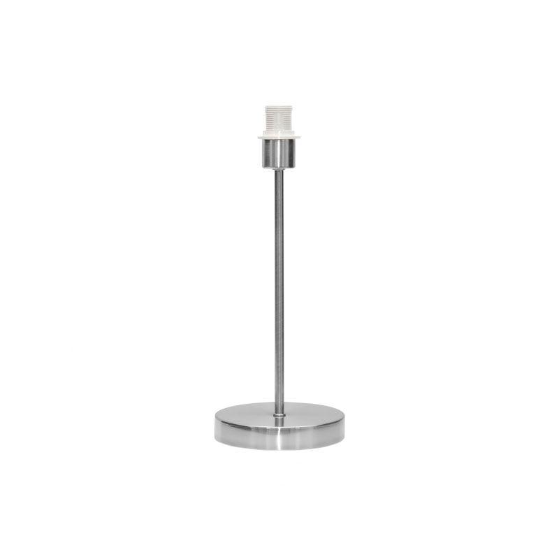 Armazón para lámpara de sobremesa color níquel