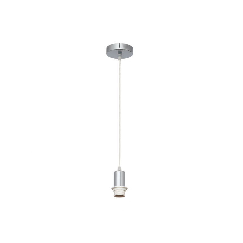 Cable de suspensión para lámpara cromo con rosca