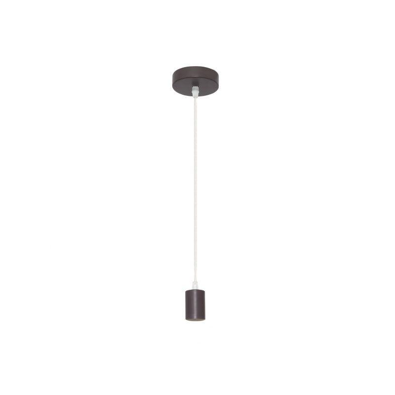 Cable de suspensión para lámpara marrón