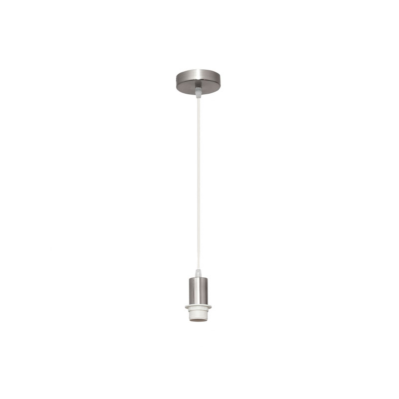 Cable de suspensión para lámpara níquel con rosca