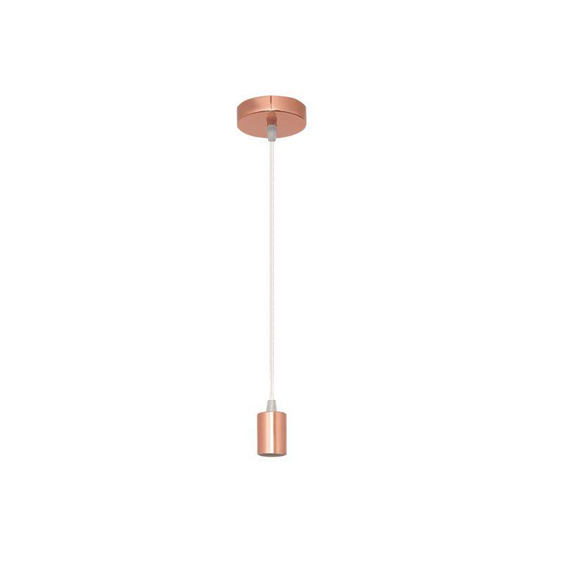 Cable de suspensión para lámpara rosa oro